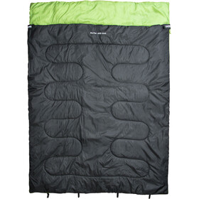 CAMPZ Surfer 400 Sleeping Bag Duo anthracite/green
